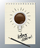Idea wake up Stock Photography