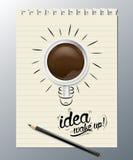 Idea wake up Stock Photography