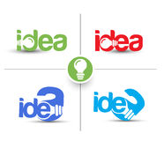 Idea Web Icon Stock Photos