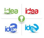 Idea Web Icon Stock Photos