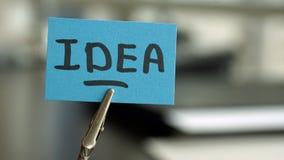 Idea writen Stock Images