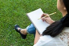 Idea for writing Stock Photo