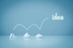 Idea y proceso creativo Foto de archivo libre de regalías