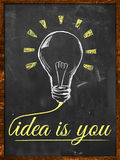 Idea is You Royalty Free Stock Photo