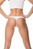 ideal тела женский Стоковое Изображение