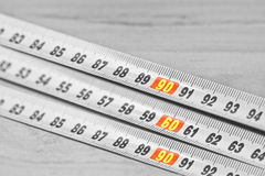 Ideal Body Measurements Royalty Free Stock Images