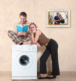 Ideal family Stock Photography