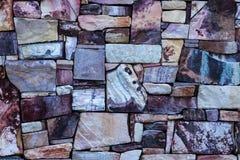Ideal natural de la pared de piedras de la roca de la piedra arenisca del diseño geométrico como fondo Fotografía de archivo