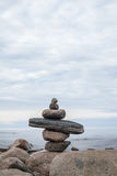 Ideal place for relaxation and meditation on the nature Stock Images