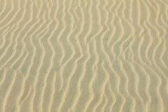 ideal sandtextur för bakgrunder Brun sand Arkivbilder