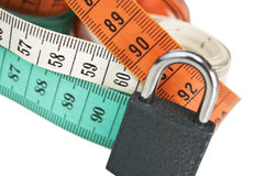 Ideal size. Sartorial meters with classical ideal size Stock Photography