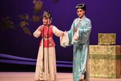 """Ideal som uppnår-Kunqu västra Chamber†för opera""""the  Arkivfoto"""