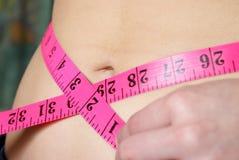 ideal waistline Royaltyfri Fotografi