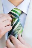 idealna krawat Zdjęcia Stock