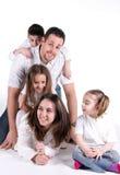 idealna rodzina zdjęcie royalty free