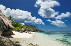 idealne na plaży zdjęcie stock