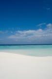 idealne na plaży Zdjęcia Royalty Free