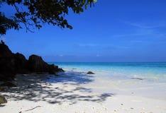 idealne na plaży Zdjęcia Stock