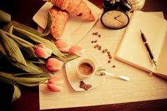 Idealny śniadanie fotografia stock