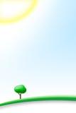 idealny dzień świeci słońce ilustracji