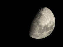 idealny księżyca Fotografia Royalty Free