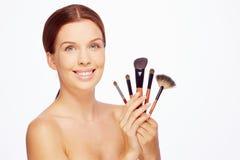 Idealny makeup Obrazy Royalty Free