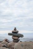 Idealny miejsce dla relaksu i medytacja na naturze obrazy stock