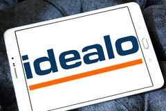 Idealo-Internet-Firmenlogo Lizenzfreie Stockfotos