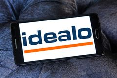 Idealo-Internet-Firmenlogo Lizenzfreies Stockfoto