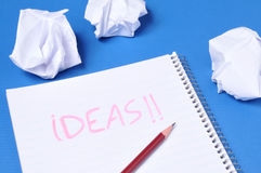 Ideas Royalty Free Stock Photo