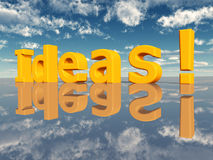 Ideas Royalty Free Stock Images
