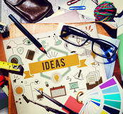 Ideas Action Design Plan Proposal Strategy Tactics Concept Royalty Free Stock Photo
