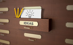 Ideas as concept Royalty Free Stock Images