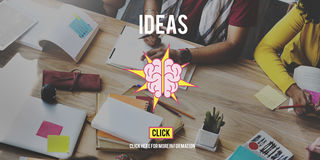 Ideas Brainstorming Vision Innovation Think Big Concept Royalty Free Stock Image