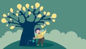 Ideas cada vez mayor Foto de archivo libre de regalías