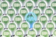 Ideas can be profitable Stock Photo