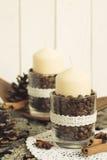 Ideas for Christmas Decoration Stock Photo