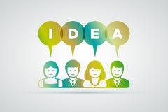 Ideas concept Stock Image