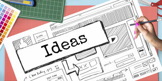 Ideas Create Conceptualize Innovation Think Concept Stock Photography