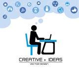 Ideas creativas Imágenes de archivo libres de regalías