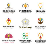 Ideas Creative Symbol Design Stock Image