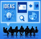 Ideas Creative Thinking Brainstorming Team Concept Stock Photography