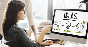 Ideas Creative Thinking People Graphic Concept Royalty Free Stock Photo