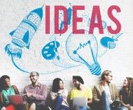 Ideas Creativity Imagination Light Bulb Concept Royalty Free Stock Photo