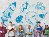 Ideas Creativity Imagination Light Bulb Concept Royalty Free Stock Images