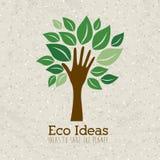 Ideas de Eco Foto de archivo libre de regalías