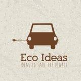 Ideas de Eco Imagen de archivo