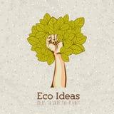 Ideas de Eco Fotografía de archivo libre de regalías