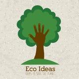 Ideas de Eco Foto de archivo