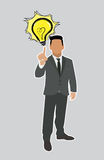 Ideas de Good del hombre de negocios  Fotos de archivo